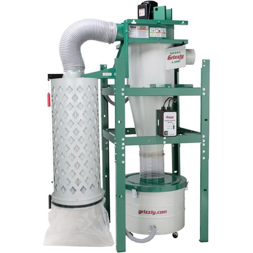 1-1/2 HP Cyclone Dust Collector