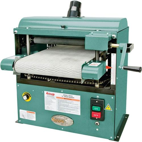 """12"""" Baby Drum Sander   Grizzly Industrial"""