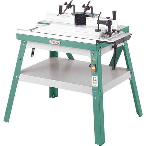 Router Tables Grizzly Com