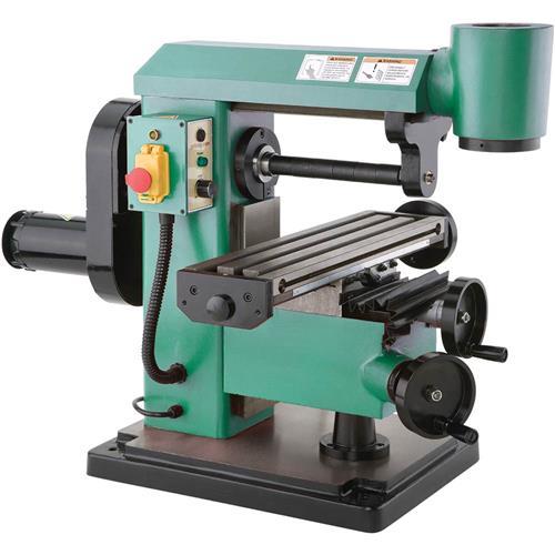 Horizontal Milling Machine >> 5 X 18 1 2 Hp Mini Horizontal Vertical Mill