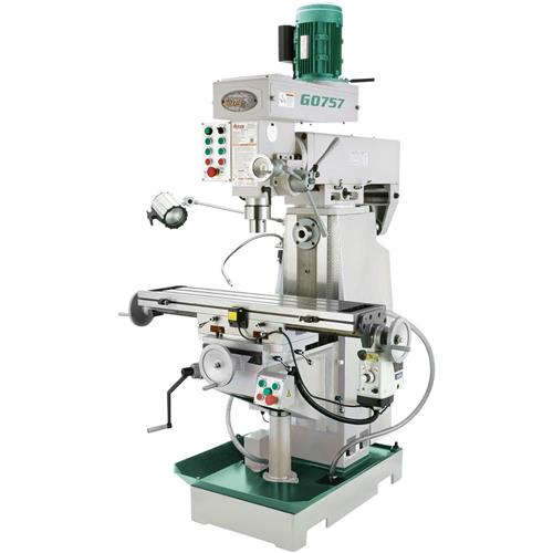 Horizontal Milling Machine >> 9 X 39 2 Hp Horizontal Vertical Mill With Power Feed