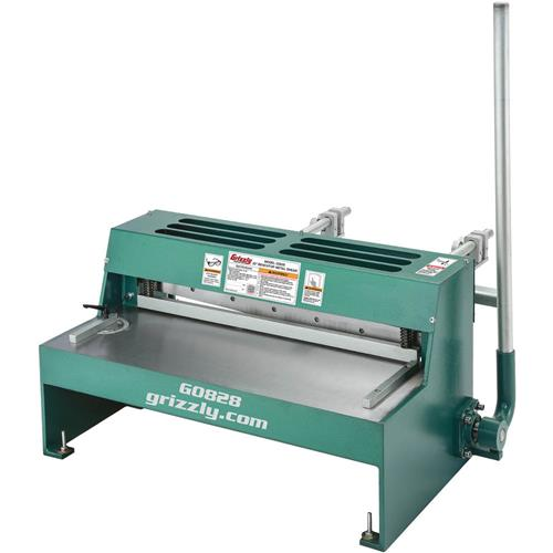 25 Quot Benchtop Metal Shear Grizzly Industrial