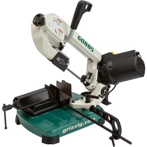 Grizzly Industrial G0885-5 Portable Metal Cutting Bandsaw