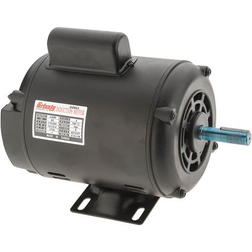 Grizzly G2903 Motor 3 4 Hp Single Phase 1725 Rpm Open 110v 220v