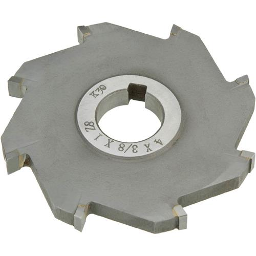 """B.8t >> Carbide Tip Side Mill Cutter, 4"""" x 3/8"""" x 1"""" B - 8T 