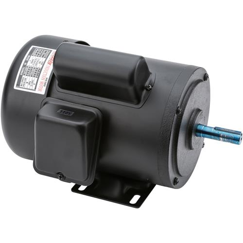 Motor 1 hp single phase 3450 rpm tefc 110v 220v grizzly for 1hp single phase motor