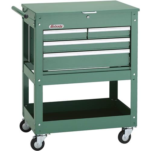 Rolling Tool Cart w/ 4 Drawer Tool Chest | Grizzly Industrial