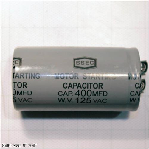 S CAPACITOR 400M 125V 1-3/4 X 3-3/8