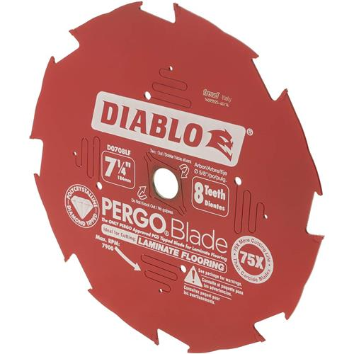 7 14 X 8t Pcd Laminate Flooring Blade Grizzly Industrial