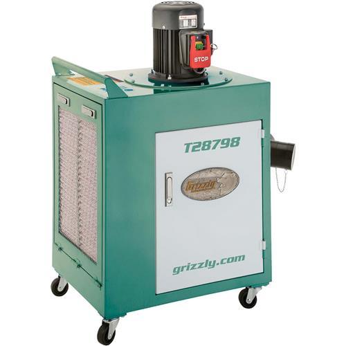 1-1/2 HP Metal Dust Collector