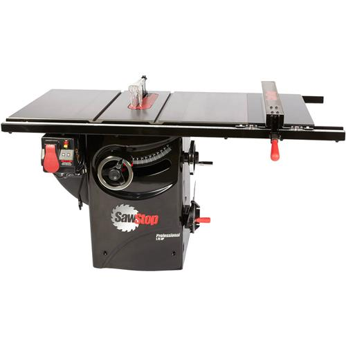 10' 1-3/4 HP 120V Professional Table Saw with 30' Premium Fence Assembly