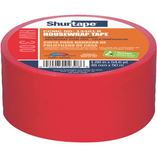 2-3/8' x 72 yd  Housewrap/Sheathing Tape