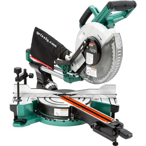 10 Double Bevel Sliding Compound Miter Saw At Grizzly Com