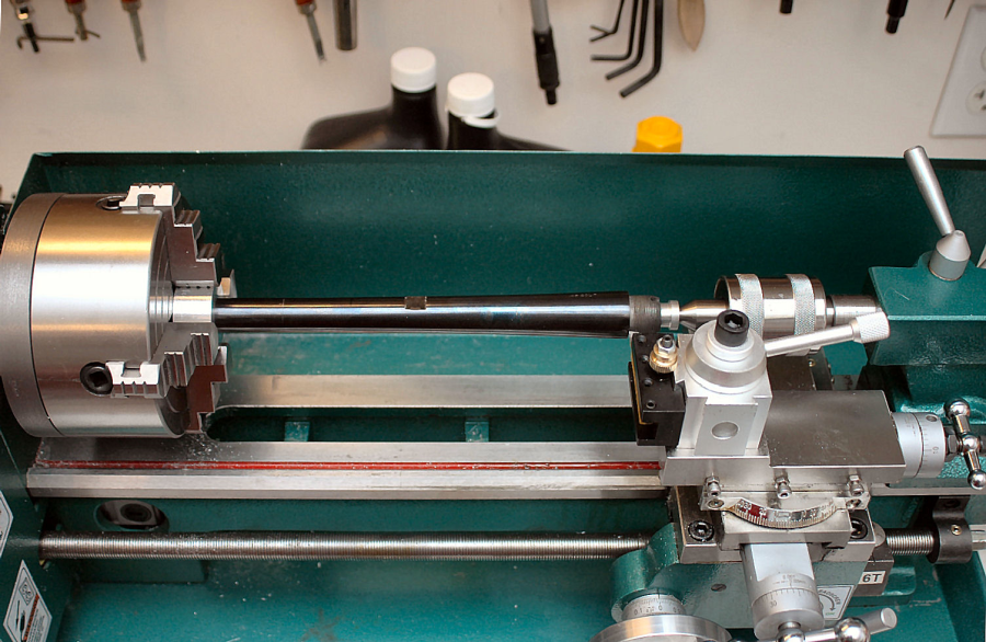 7' x 14' Variable-Speed Benchtop Lathe