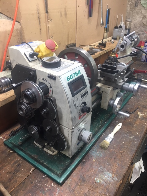 8' x 16' Variable-Speed Lathe