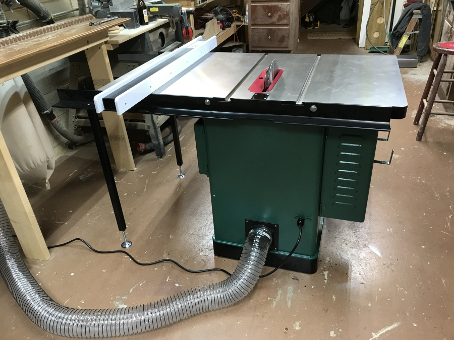 10' 3 HP 240V Cabinet Left-Tilting Table Saw