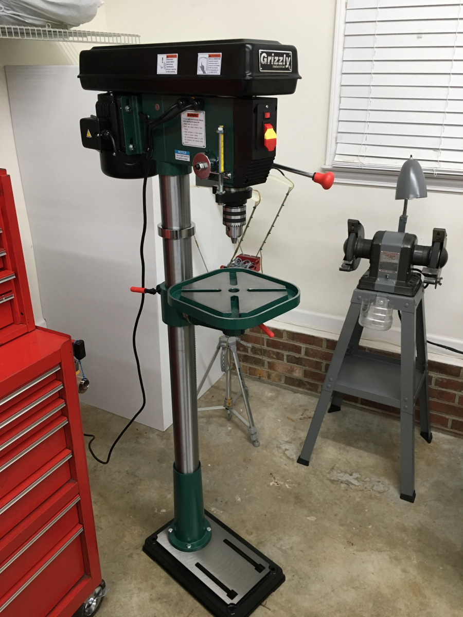 12 Speed Heavy Duty 14 Quot Floor Drill Press Grizzly Industrial