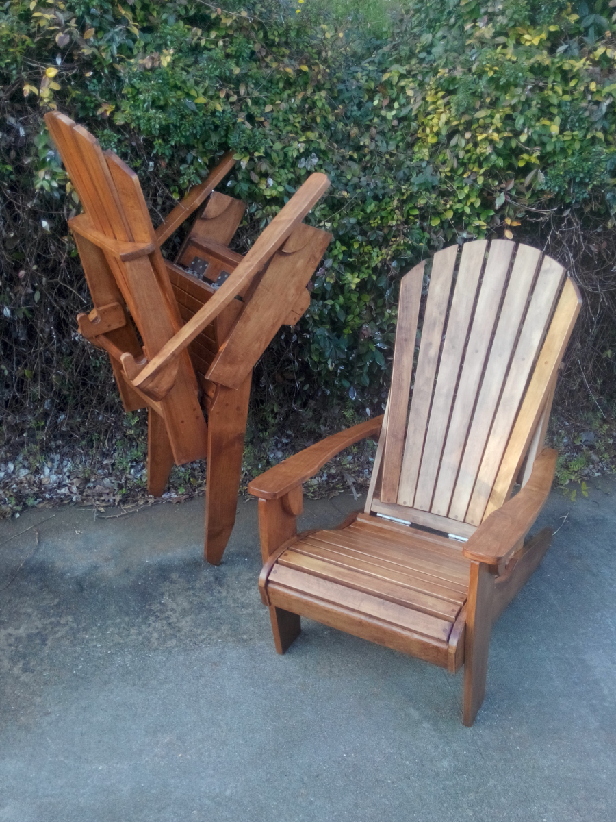 folding adirondack chair plans grizzly industrial. Black Bedroom Furniture Sets. Home Design Ideas